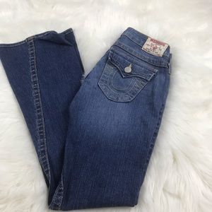 True Religion Jeans Joey SZ 26 Bell Bottoms NWOT